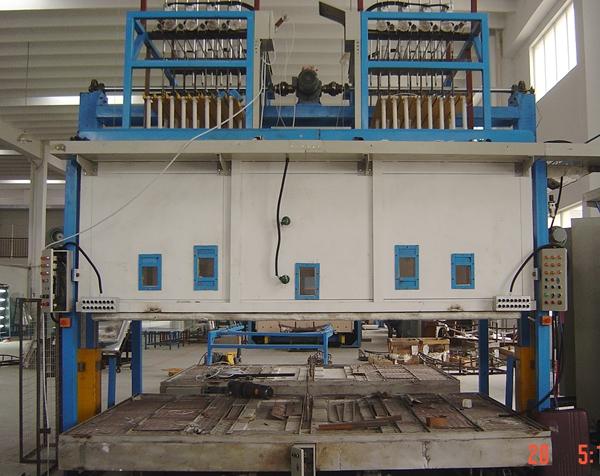 1 Chamber 1 Wagon Glass Bending Furnace DSC04241