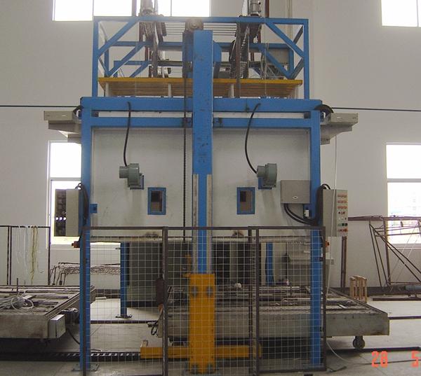 1 Chamber 1 Wagon Glass Bending Furnace DSC04242