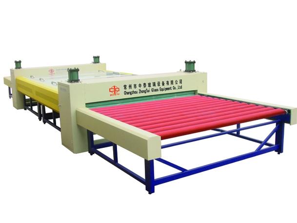 Realistic type roller pre-pressing machine